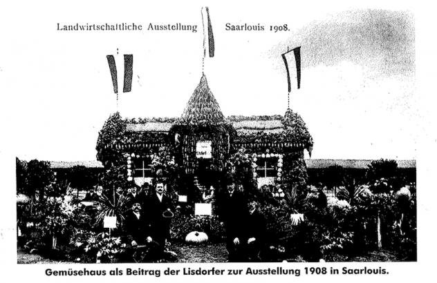 Gemüsehaus 1908